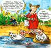 Cartoon: Genforschung (small) by GB tagged gen,forschung,klon,genmanipulation,ethik,dolly,hybrid,tierversuch,depp