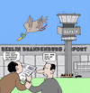 Cartoon: Flughaven Berlin (small) by Retlaw tagged flughaven berlin milliardenprojekt