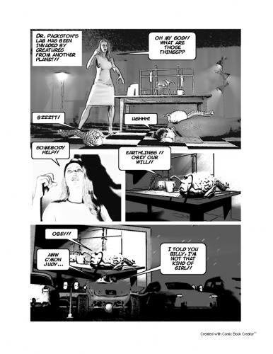 Cartoon: TMFV Page 02 (medium) by rblue tagged scifi,comic