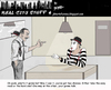 Cartoon: mime grilling (small) by optimystical tagged mime,law,interrogation,talk,informant,criminal,detective,mute