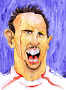 Cartoon: Franck Ribery (small) by Mario Schuster tagged franck,ribery,france,frankreich,fußball,soccer,football,wm,worldcup,portrait,porträt,caricature,karikatur