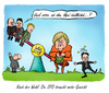 Cartoon: Nach der Wahl (small) by Mario Schuster tagged karikatur,cartoon,mario,schuster,angela,merkel,peer,steinbrück,wahl,gysi