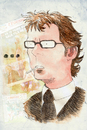 Cartoon: Laurent Blanc (small) by Thomas Berthelon tagged berthelon,thomas,worldcup,world,cup,2010,mondial,football,blanc