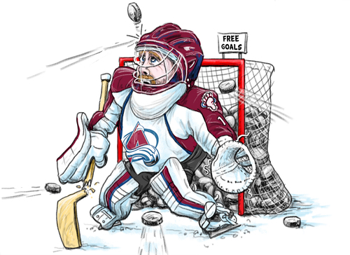 Avalanche Season Woes By Karlwimer Sports Cartoon Toonpool