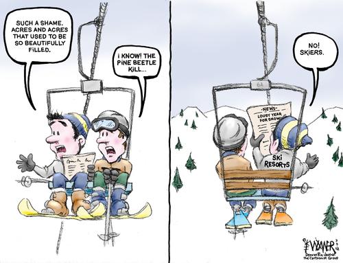 ski resorts 12karlwimer | business cartoon | toonpool