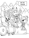 Cartoon: Adaptive Spirit Coloring Book p7 (small) by karlwimer tagged adaptive,spirit,coloring,book,skiing,korea