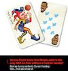 Cartoon: Jokic Durant NBA Cards (small) by karlwimer tagged nba,basketball,jokic,durant,nuggets,playing,cards