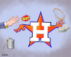 Cartoon: Wrist Slap for Houston Astros (small) by karlwimer tagged mlb,baseball,houston,astros,sign,stealing,cheating,penalties,sports,united,states