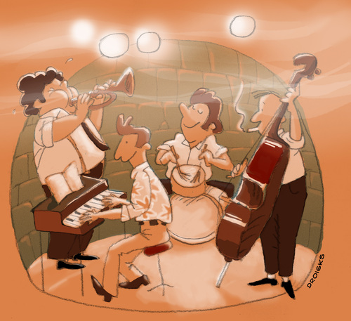 Musicians jazz trio,play guitar,bassist,piano. jazz band ...