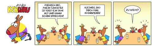 Kenguru Wunderkind By Droigks Famous People Cartoon Toonpool