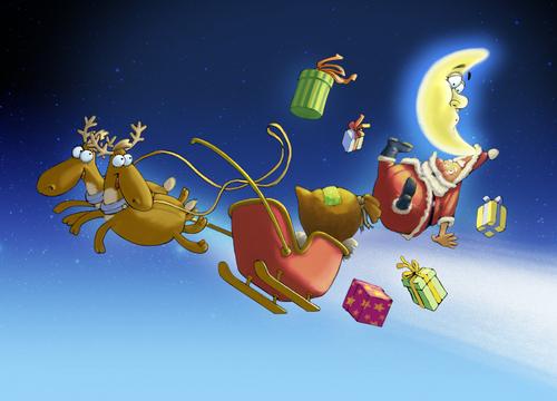 Weihnachten Animation.Fröhliche Weihnachten By Droigks Religion Cartoon Toonpool