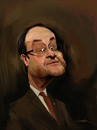 Cartoon: Francois Hollande (small) by jabir tagged hollande,france