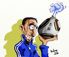 Cartoon: Franck Ribery (small) by kadran tagged franck,ribery,coupe,du,monde,fifa,2010