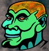 Cartoon: Ghost of Belafonte (small) by Tzod Earf tagged caricature,harry,belafonte