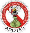 Cartoon: Adote (small) by Miaaudote tagged dog,street,puppy,miaaudote,palmas,tocantins,brasil,pet,cao,cachorro,vira,lata,adote,adocao,animals