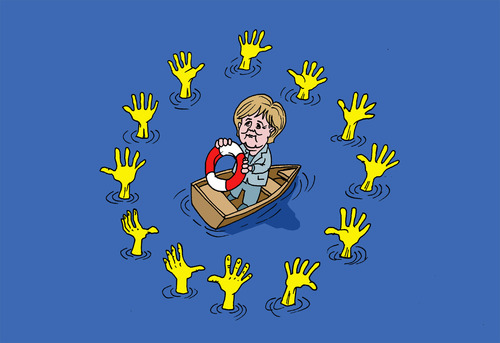 EU summit By Ballner | Politics Cartoon | TOONPOOL