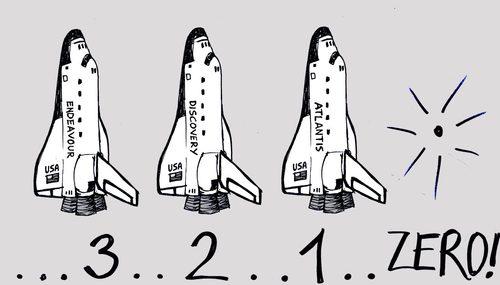 Space Shuttle Cartoon Cartoon Space Shuttle Project