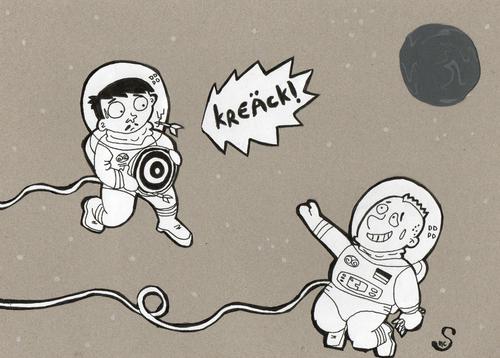 vorletzte geräusche -kreäck- By XombieLarry   Sports Cartoon   TOONPOOL