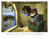 Cartoon: Partridge in a Pear Tree with Uk (small) by birdbee tagged partridge,pear,tree,uke,ukulele,3d