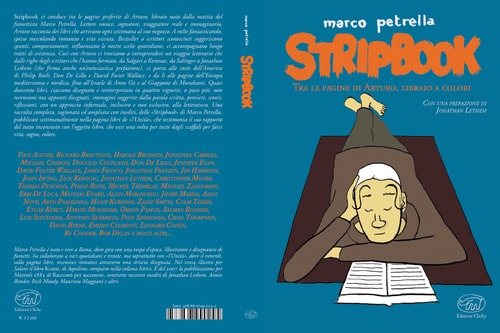 Cartoon: stripbook clichy (medium) by marco petrella tagged italy,books,cartoon