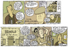 Cartoon: jack london review (small) by marco petrella tagged writers