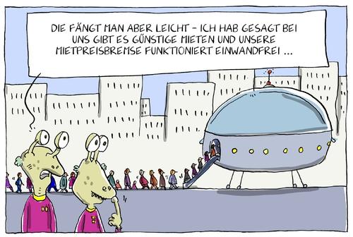 g nstige mieten by leopold maurer politics cartoon. Black Bedroom Furniture Sets. Home Design Ideas