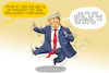 Cartoon: trump ist erster (small) by leopold maurer tagged trump,usa,wahl,2021,impeachment,verfahren,kapitol,sturm,demokratie,leopold,maurer,cartoon,karikatur,comic,illustration