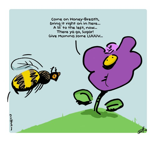 Sexual reproduction in plants images cartoon