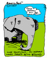 Cartoon: Elephant (small) by ericHews tagged elephant,resent,betray,revenge