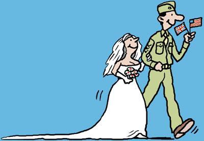 Gi Bride By Ellis Nadler Love Cartoon Toonpool