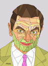 Cartoon: Mr bean (small) by omar seddek mostafa tagged mr,bean