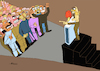Cartoon: Political speech (small) by omar seddek mostafa tagged political,speech