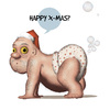 Cartoon: Santa 2014 2 (small) by cosmo9 tagged santa,christmas,mas,weihnachten,weihnachtsmann