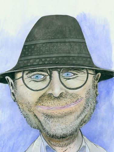 Cartoon: Phil Collins (medium) by timfuzius tagged collins,genesis,pop