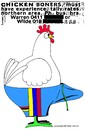 Cartoon: Chicken Boner (small) by BlokeyAarsevark tagged chickens,boners