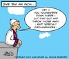 Cartoon: Give em an inch (small) by Mike Spicer tagged pope,condom,condoms,reform,humour