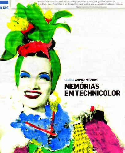Cartoon: Carmencita (medium) by barbarella tagged carmen,miranda,fruits,brazil