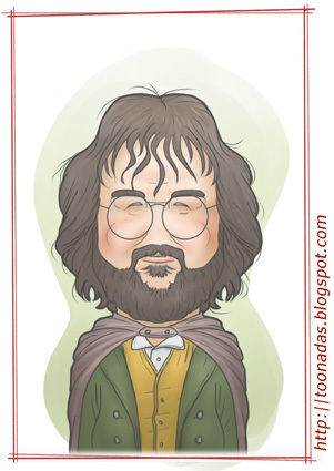 Cartoon: Peter Jackson (medium) by Freelah tagged peter,jackson