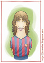 Cartoon: Carles Puyol (small) by Freelah tagged carles,puyol
