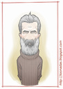 Cartoon: Constantin Brancusi (small) by Freelah tagged constantin,brancusi