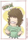 Cartoon: Dan Mccafferty (small) by Freelah tagged dan,mccafferty,nazareth,old,rock