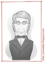 Cartoon: George Biddell Airy (small) by Freelah tagged george,biddell,airy,astronomy