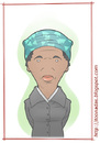Cartoon: Harriet Tubman (small) by Freelah tagged harriet,tubman,slavery,abolitionism
