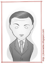 Cartoon: Peter Lorre (small) by Freelah tagged peter,lorre,mr,moto,hans,beckert,doctor,gogol,ugarte