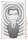 Cartoon: Rod Serling (small) by Freelah tagged rod,serling