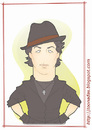 Cartoon: Stallone - as Rocky (small) by Freelah tagged sylvester,stallone,rambo,rocky,balboa,cobra,action,movies