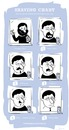 Cartoon: The Shaving Chart (small) by philippsturm tagged shaving,beard,mountain,man,walter,white,breaking,bad,dartagnan,freddy,mercury,charly,chaplin,chart,haircut,hair,style,rasur,rasieren,bart,schnurrbart,mustache,frisur,haarschnitt,friseur,caveman,hipster,cartoon