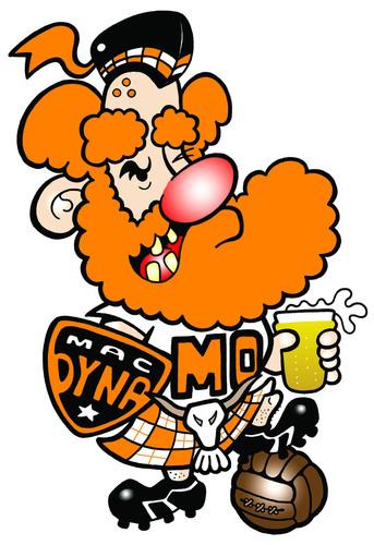 Mac Dyna MO By Ca11an | Sports Cartoon | TOONPOOL