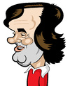 Cartoon: George Best (small) by Ca11an tagged george,best,manchester,united,legend,nothern,ireland