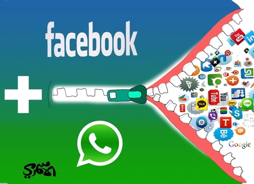 Cartoon: alasmri facebook WhatsApp (medium) by hussein alasmri tagged ...